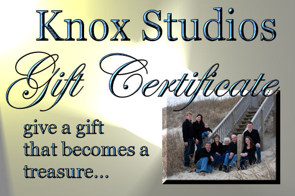 gift certificates are the perfect last minute gift!